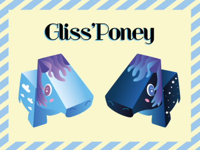 Jeu en papier prêt à être imprimé - Gliss'Poney