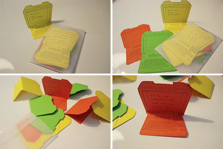 KOSMIK - Etiquettes Minitel - DIY - Free Printable